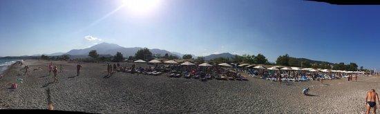 Daima Biz Hotel: панорама пляжа
