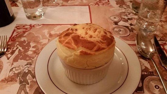 La Cuisine de Philippe : Soufle de queso. Impresionante
