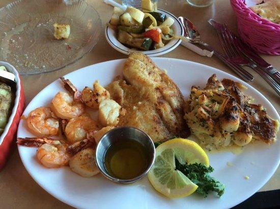 Serendipity Restaurant Seafood Platter