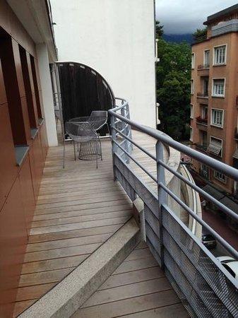 Hotel Le Pre Carre : balcone