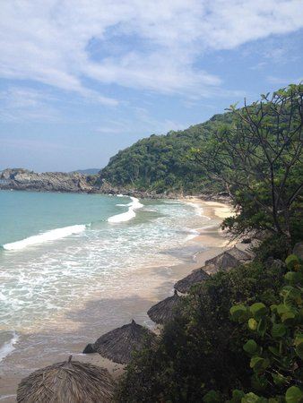 Las Brisas Ixtapa: Private beach