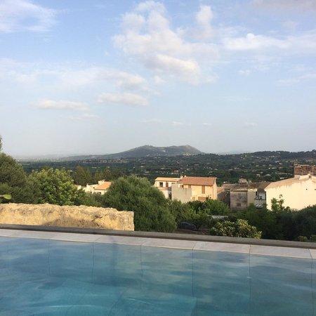 Petit Hotel Son Arnau: What a View!
