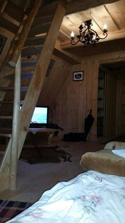 Pensjonat I Domki Javorina : Dormitorio