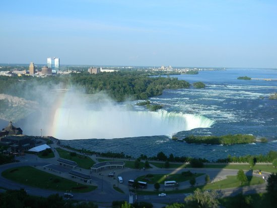 Niagara Falls Marriott on the Falls: View from room