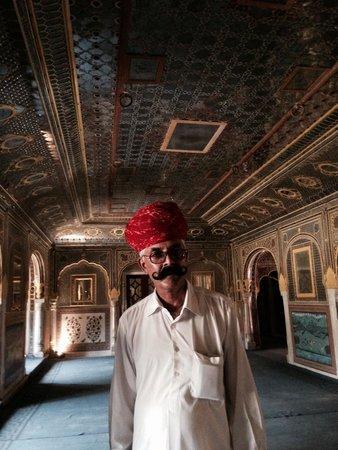 Samode Palace: Mirror palace