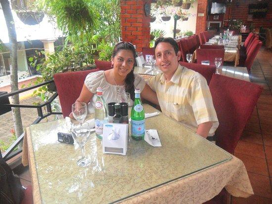 Calzada de Amador: Almuerzo bucaneros