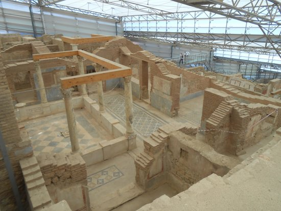Ancient City of Ephesus: interior of terrace houses