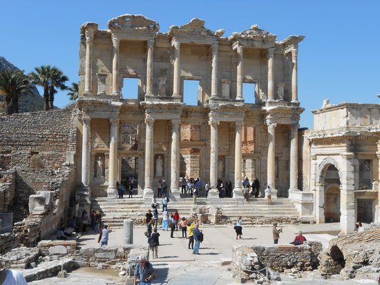Ancient City of Ephesus: library