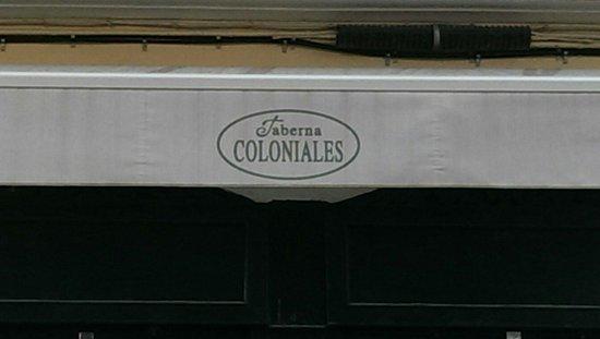 Los Coloniales : La devanture