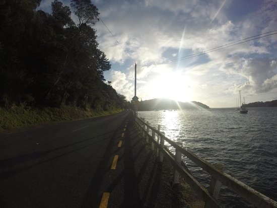 Mangonui Fish Shop: View from the road