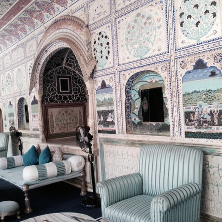 Samode Palace : Tea room