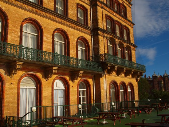 Grand Hotel Scarborough: Sea view,s