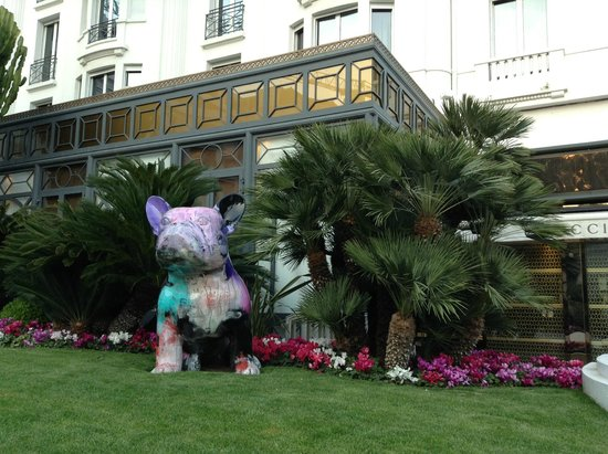 Hotel Barriere Le Majestic Cannes: Jardins Majestic