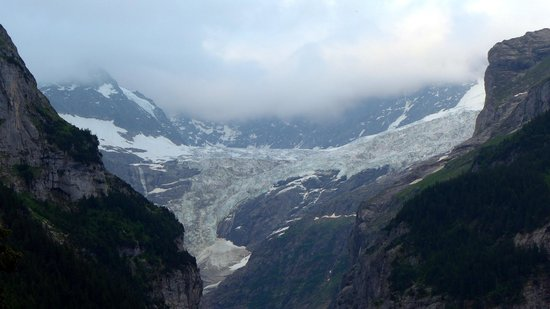 Hotel Gletschergarten : Vista do nosso quarto
