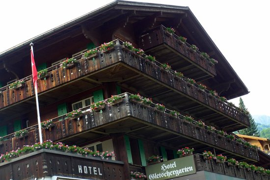 Hotel Gletschergarten : Charme da construção suiça