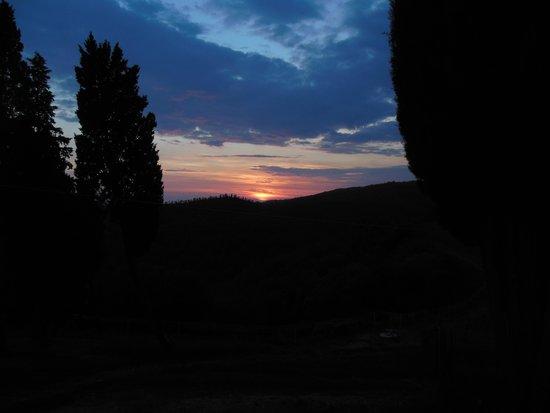 Borgo Castelvecchi Residenza D'Epoca : Beautiful Sunset