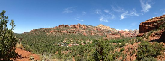 Enchantment Resort: From our hike above the resort