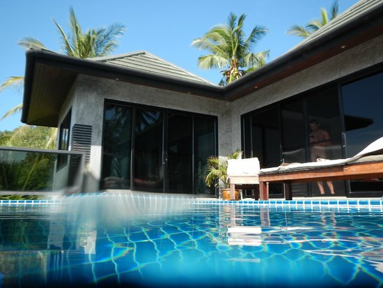 Koh Tao Heights Pool Villas: View from pool