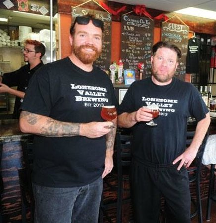 Lonesome Valley Brewing: The Brians, Brewer and Head Chef