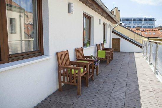 Lavanda Hotel Prague : Terrace