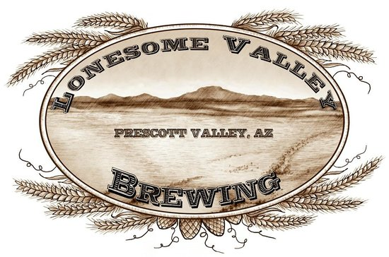 Lonesome Valley Brewing: Lovely Logo