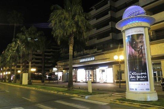 Hôtel Barrière Le Majestic Cannes : Vista do Apartamento