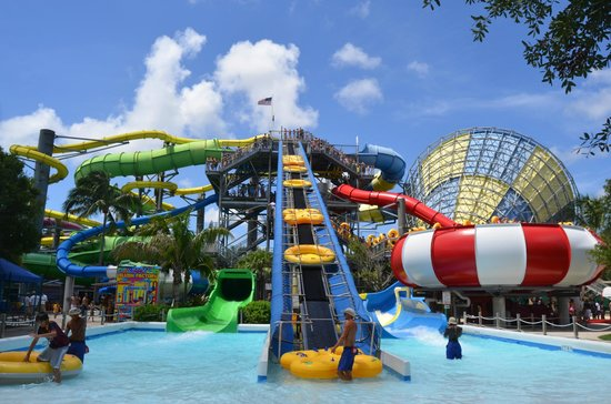 Rapids Water Park Red