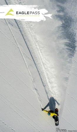Eagle Pass Heliskiing : Filming for Sherpas Cinema's Into the Mind - Blake Jorgenson photo