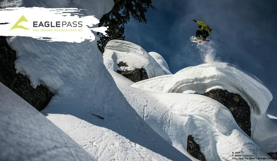 Eagle Pass Heliskiing : DCP filming for Sherpas Cinema's Into the Mind - Blake Jorgenson photo