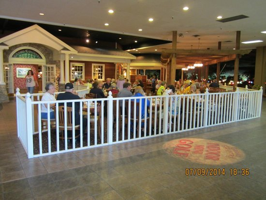 Part of Grand Country Buffet Eating Area