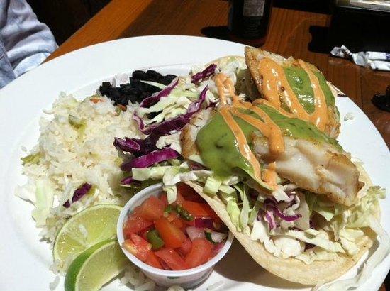 Schooners Wharf: Halibut Tacos