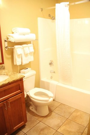 Candlewood Suites Santa Maria : WC & Wanne