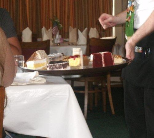 Ariston Cafe: Dessert Tray
