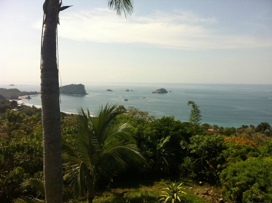 Villa Manuel Antonio: View from one of the upper floors