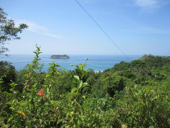 Villa Manuel Antonio: View from lower floor