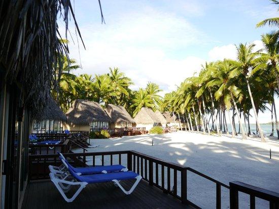Aitutaki Lagoon Resort & Spa: A Wide Quiet Beach