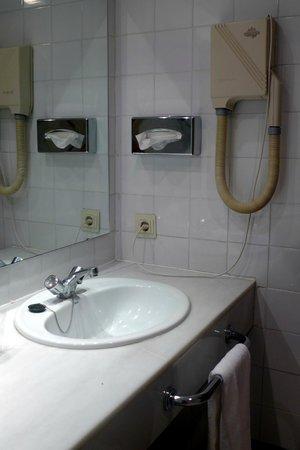 Parador de Merida: Banheiro