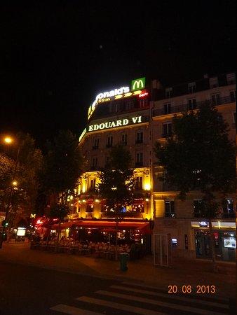 Hotel Edouard 6: vista del hotel