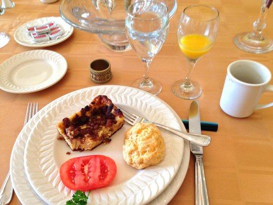 Taylor House Inn : Second course breakfast