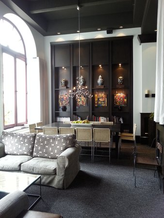 Hotel Le Germain Quebec: Le Lobby coin salon