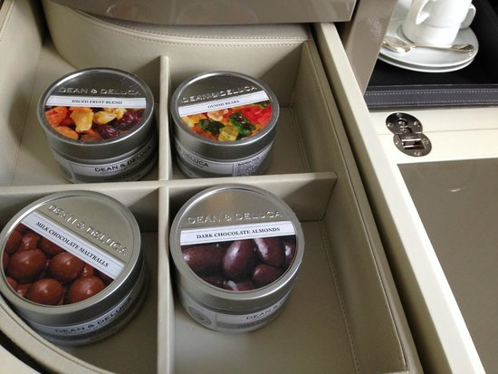 The Langham, Chicago: Gourmet treats in a snazzy cabinet