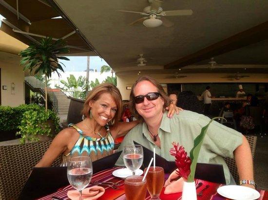 Sunset Plaza Beach Resort & Spa: Last night dinner