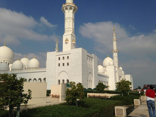 Mezquita Sheikh Zayed: Beautiful Exteriors
