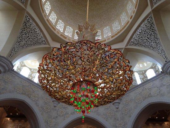 Mezquita Sheikh Zayed: chandelier