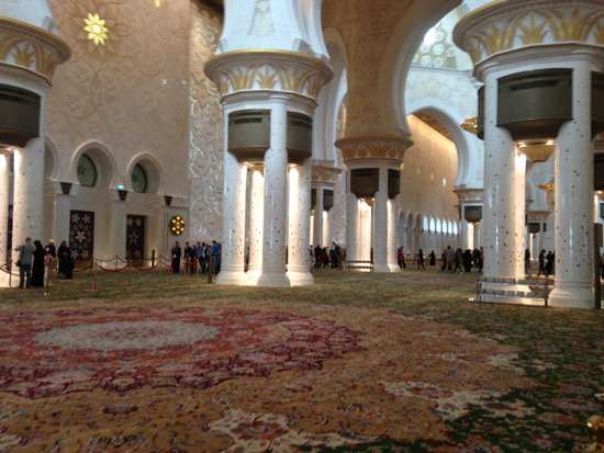 Mosquée Cheikh Zayed : Beautiful Interiors