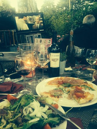 La Terrasse: easy dinner