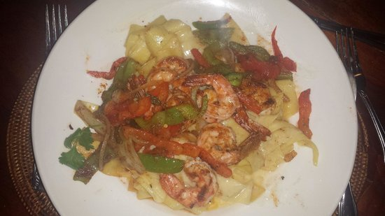 Cafe O'Lei Kihei: Shrimp and pasta