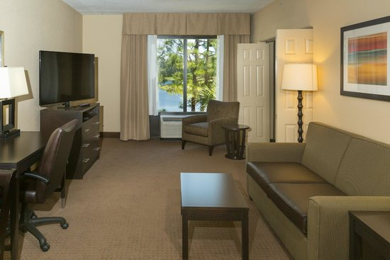 Holiday Inn Express & Suites Jacksonville - SE Med Center Area : Living Room Suite