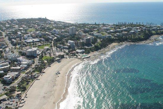 Sunshine Coast Skydivers: Beautiful Caloundra Beaches!
