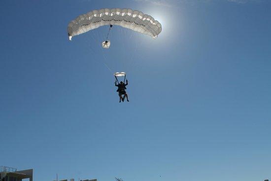 Sunshine Coast Skydivers: Beautiful weather here on the Sunshine Coast